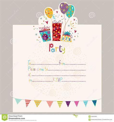 mod 232 le carte invitation anniversaire mod 232 le carte
