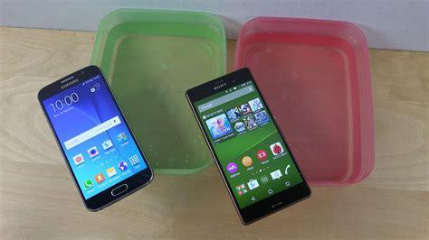 Samsung Galaxy S6 Vs Sony Xperia Z3 sony xperia z3 vs samsung galaxy s6 which smartphone looks better blorge