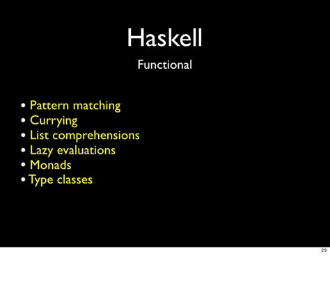 scala pattern matching haskell why languages matter 20090123