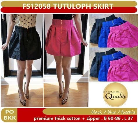 Po Dress Import Quality Premium A41906 tutuloph skirt supplier baju bangkok korea dan hongkong premium quality import thailand