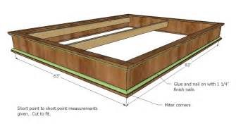Fine Woodworking Platform Bed Plans by Woodworking Plans Queen Size Platform Bed