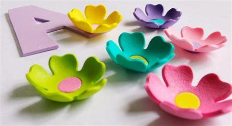 imagenes flores de goma eva flores de goma eva