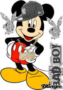 gangsta mickey mouse picture 102108925 blingee