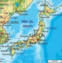 japon carte physique