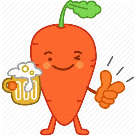 vegetables emoji carrot drinks emoji emoticon happy vegetable