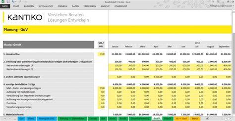 Kostenlose Vorlage Bwa Planung Excel Kostenlos Guv Bilanz Und Finanzplanung
