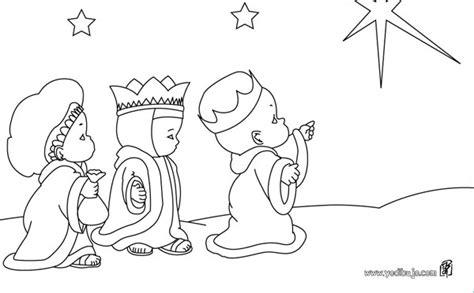imagenes de reyes magos animados para colorear dibujos de los reyes magos 161 para colorear pequeocio