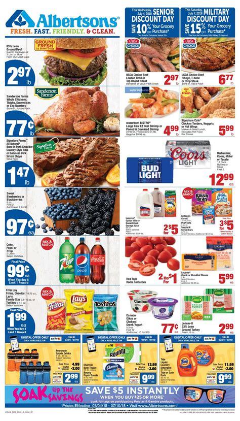 albertsons weekly ad flyer july    weekly ad circulars weekly ads digital coupons