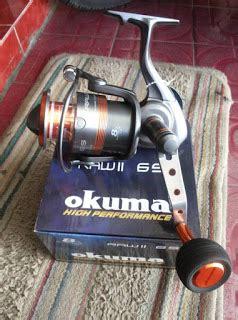Pancing Okuma rumah pancing jogja saltwater spining reels okuma ii
