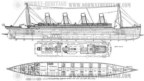 titanic boat design fine lines boat plans and designs aplan