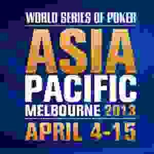 inaugural wsop apac in australia takes off   online poker news