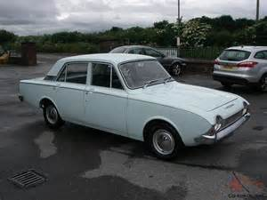 Ford Corsair 1966 Ford Corsair 1 7 V4 Deluxe 4 Door Saloon