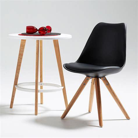stoelen wit zwart moderne houten stoel grijs wit of zwart felix