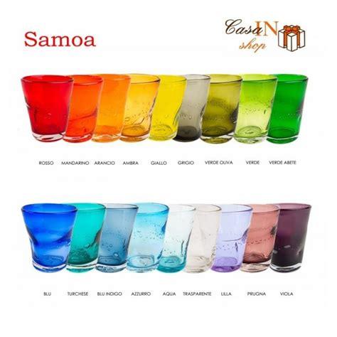 bicchieri samoa samoa bicchiere acqua comtesse casa in shop negozio di