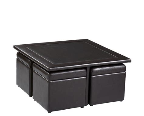 Cube Coffee Table Set Broderick Storage Cube Table Set Contemporary Coffee Tables By Shop Chimney