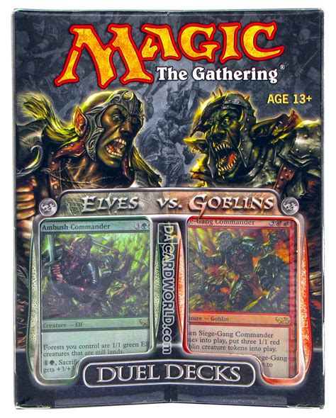 Magic the Gathering Elves Vs. Goblins Duel Deck   DA Card