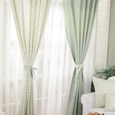 romantic curtains and drapes modern rustic vintage floral curtians fashion custom made
