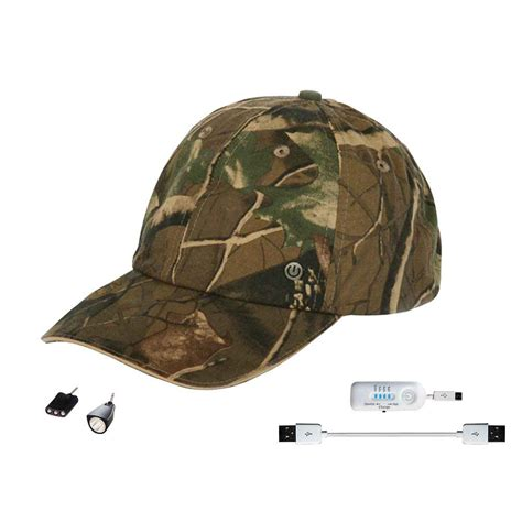 Rechargeable Hat Lights power gear rechargeable hat with attachable led light camo pgh93438 the home depot