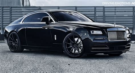 roll royce wraith matte rolls royce wraith poses on 22 quot matte black wheels