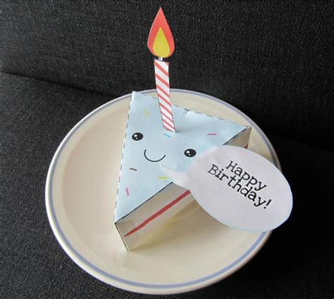 Birthday Paper Crafts - happy birthday cake papercraft by uki775 on deviantart