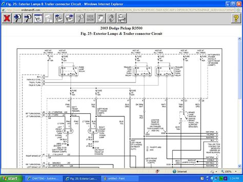 2003 dodge ram 3500 sel wiring diagram dodge auto wiring