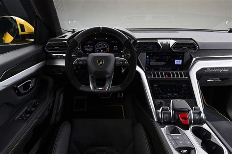 suv lamborghini interior lamborghini urus suv revealed in due in 2018