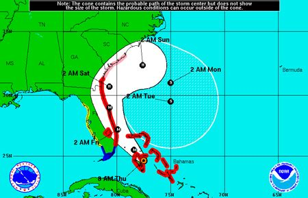 weather resources inform residents in hurricane matthew's