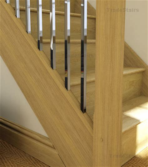 Chrome Banister Rails by Axxys Squared Stairs Axxys2 Stair Parts