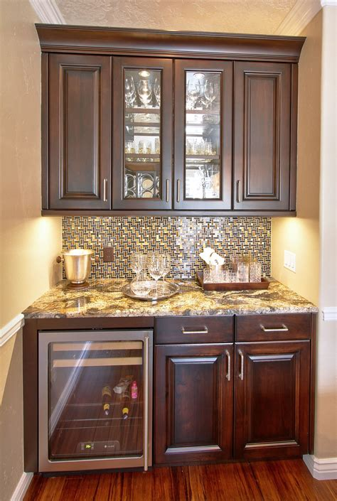 kitchen tile ideas for the backsplash area midcityeast small bar area with full height backsplash love this bar
