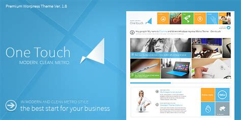 themeforest yithemes one touch themeforest wordpress theme responsive
