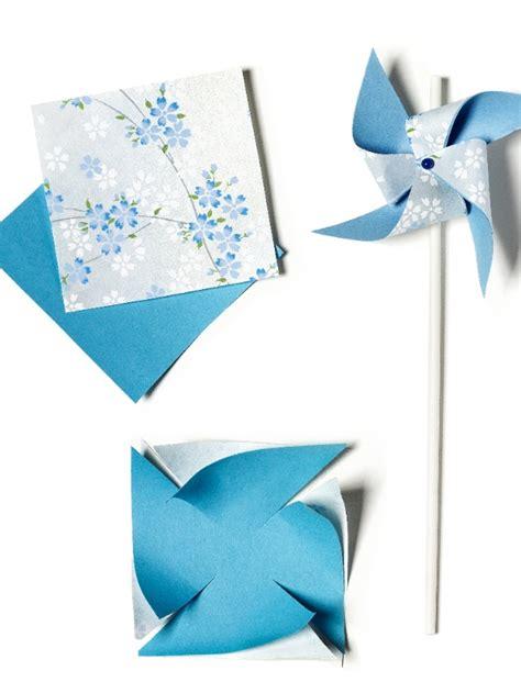 Pinwheel Paper Craft - how to make a pinwheel today s parent