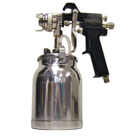 spray painting a gun buffalo tools 1 qt industrial paint spray gun psg1q the