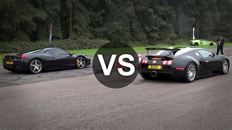 vs bugatti race bugatti vs lamborghini vs race www imgkid