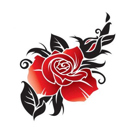 free rose tattoo image tattoo from itattooz