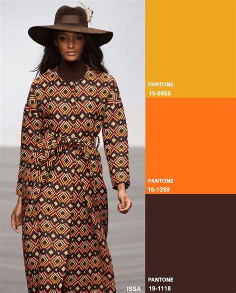 Fashion Orange brown burnt orange mustard yellow fashion forecast key colour combos fall 2014 winter 2015
