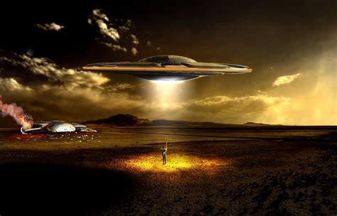 ufo background manipulation hd wallpaper and background image