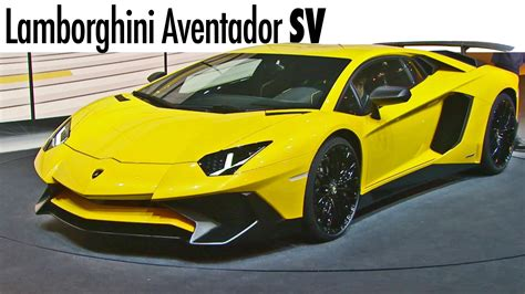 Lamborghini Youtube by Lamborghini Aventador Sv World Premiere Youtube