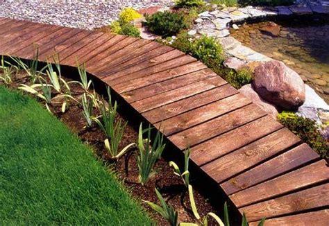 green design ideas 30 green design ideas for beautiful wooden garden paths