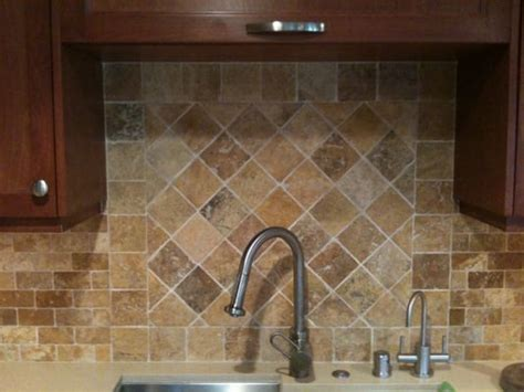 Backsplash Travertine by Travertine Backsplash That We Selected For A Client Yelp