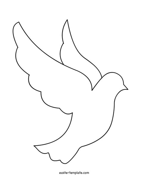 free printable drawing templates peace dove template printable quotes peace