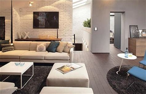 White Brick Wall Living Room by 33 Modern Interior Design Ideas Emphasizing White Brick Walls