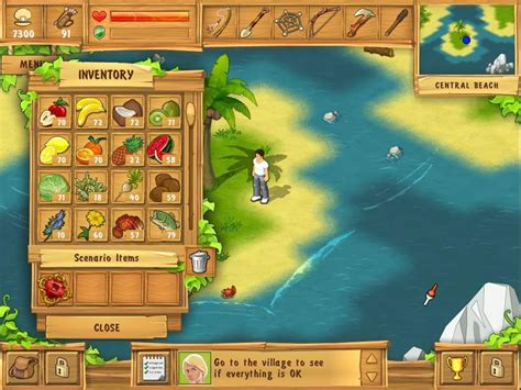 Gamis Silang the island castaway and play on pc youdagames