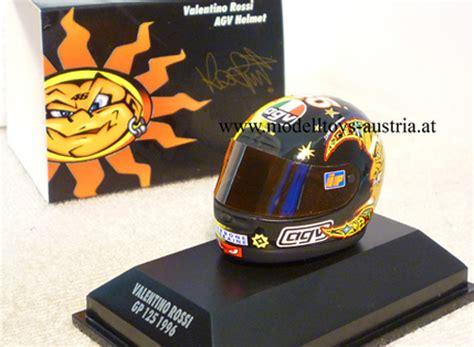 Motorrad 125 Ccm Helm by Helm Agv Valentino Rossi 1996 125 Ccm 1 8 Modelltoys Austria