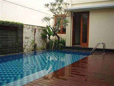 contoh desain rumah dengan kolam renang sederhana unik minimalis idenahrumah