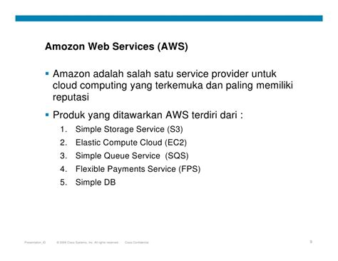 Amazon Web Services Adalah | cloud computing services