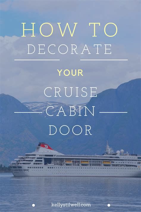 how to your to the door 10 ideas for decorating your cruise cabin door food faraway places