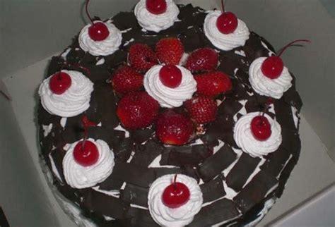 membuat kue tart sederhana gambar coklat buatan sendiri gambar v