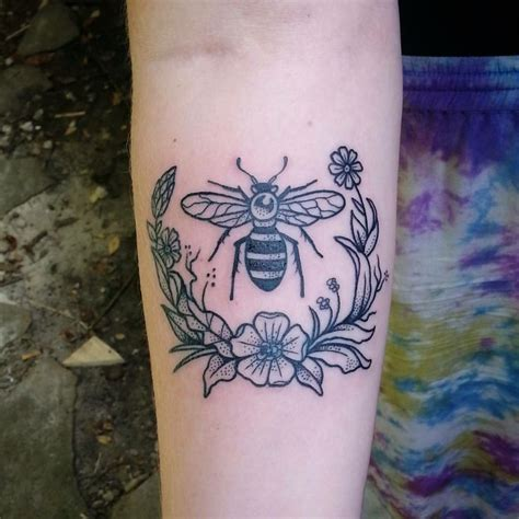 speakeasy tattoo boone my bee done by cutty bage at speakeasy