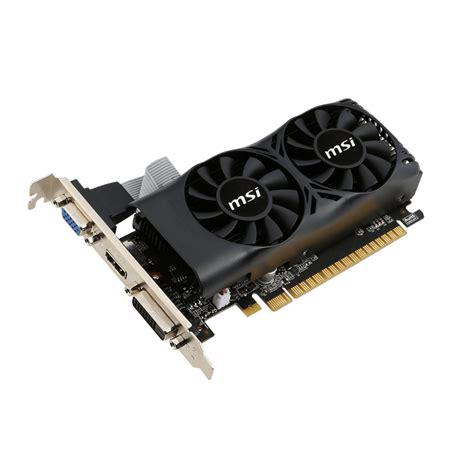 Vga Zotac Gtx 1050 2gb Ddr5 Single Fan Nvidia Pci Express carte graphique msi geforce gt 750 ti 2 go ddr5 pcie