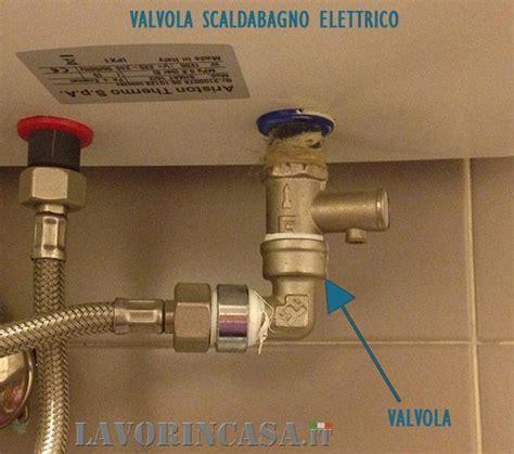 scalda bagno elettrico manutenzione dello scaldabagno
